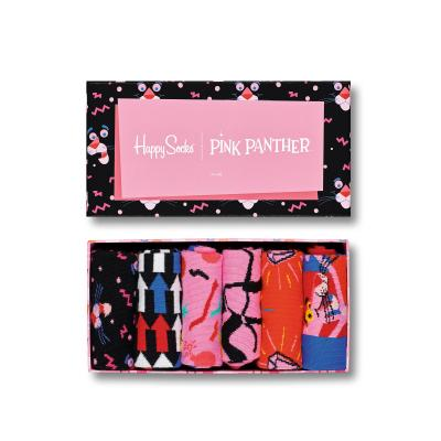 S-Rush(エスラッシュ)<br>[Happy Socks(ハッピーソックス)]<br>6-PACK PINK PANTHER COLLECTION マルチ
