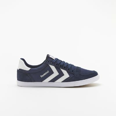 hummel-LIFESTYLE<br>SL STADIL CANVAS LOW DRESS BLUE