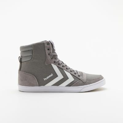 hummel-LIFESTYLE<br>SL STADIL CANVAS HIGH FROST GREY