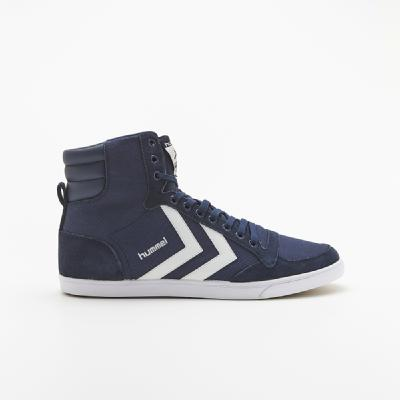 hummel-LIFESTYLE<br>SL STADIL CANVAS HIGH DRESS BLUE