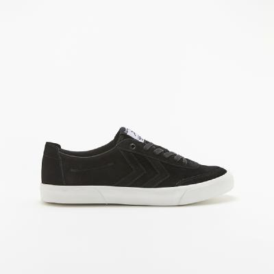 hummel-LIFESTYLE<br>STOCKHOLM SUEDE LOW BLACK