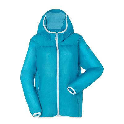 Schoffel (ショッフェル) <br>WINDSHELL PARKER WOMEN(ウインドシェルパーカ)/L BLUE<br>(Ladys)