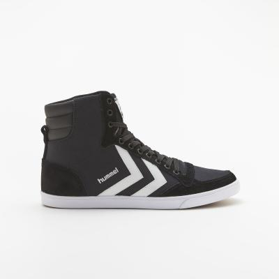 S-Rush(エスラッシュ)<br>[hummel(ヒュンメル)]<br>SL STADIL CANVAS HIGH BLACK/WHITE