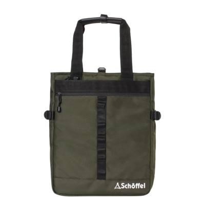 Schoffel (ショッフェル) <br>2WAY SQUARE TOTE BAG �U/KHAKI<br>(Unisex)