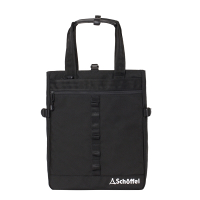 Schoffel (ショッフェル) <br>2WAY SQUARE TOTE BAG �U/BLACK*WHT<br>(Unisex)