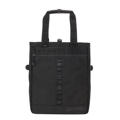 Schoffel (ショッフェル) <br>2WAY SQUARE TOTE BAG �U/BLACK*BK<br>(Unisex)