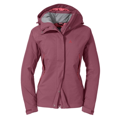 Schoffel (ショッフェル) <br>INS. JACKET TOUBKAL L(インシュレッドジャケット トゥブカル L)/RED MOSCATO<br>(Ladys)