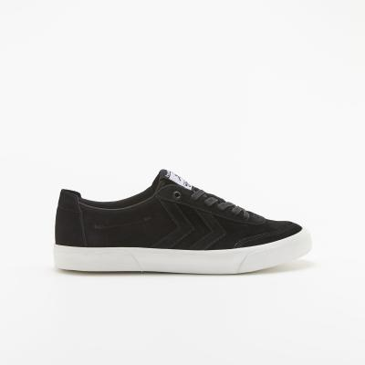 S-Rush(エスラッシュ)<br>[hummel(ヒュンメル)]<br>STOCKHOLM SUEDE LOW BLACK