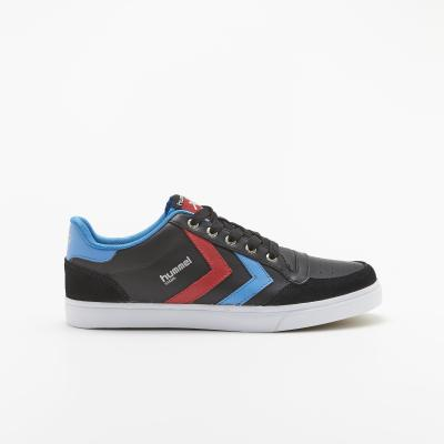S-Rush(エスラッシュ)<br>[hummel(ヒュンメル)]<br>STADIL LOW BLACK/BLUE/RED