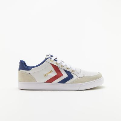 S-Rush(エスラッシュ)<br>[hummel(ヒュンメル)]<br>STADIL LOW WHITE/BLUE/RED