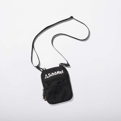 Schoffel (ショッフェル)<br>SHOULDERMINI POUCH / BLACK×WHITE