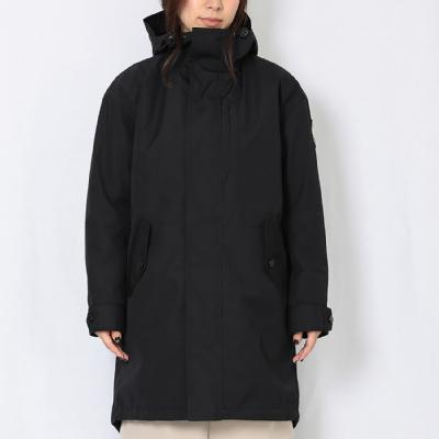 Schoffel (ショッフェル)<br>2IN1 MODS COAT / BLACK<br>(Unisex)