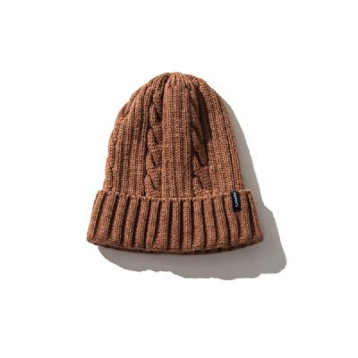 Schoffel (ショッフェル)<br>KNIT CAP / COFFEE BROWN<br>(Unisex)