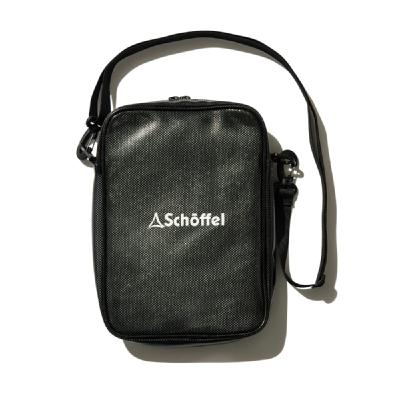 Schoffel (ショッフェル)<br>SHOULDER POUCH S / BLACK<br>(Unisex)