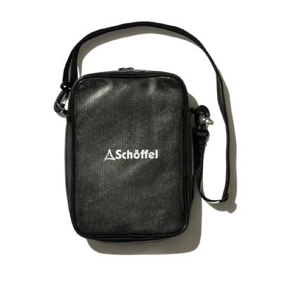 Schoffel (ショッフェル)<br>SHOULDER POUCH M / BLACK<br>(Unisex)
