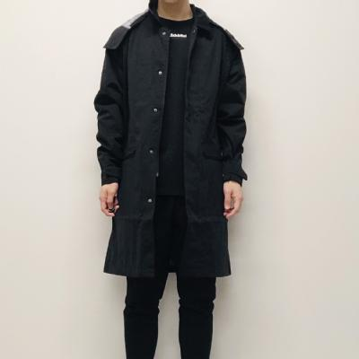 Schoffel (ショッフェル) <br>ALL WEATHER COAT / BLACK<br>(Unisex)