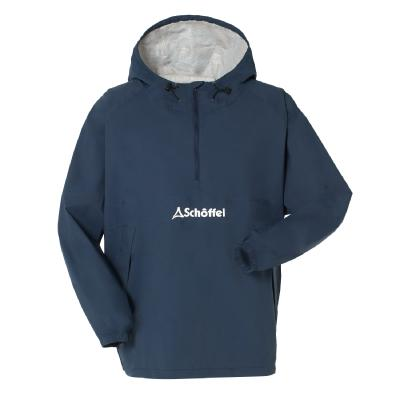 Schoffel (ショッフェル) <br>ALL WEATHER S-CAFE ANORAK / NAVY<br>(Unisex)